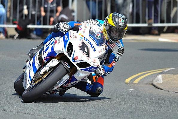 Motorbike Traffic Competing Transportation Motorcy