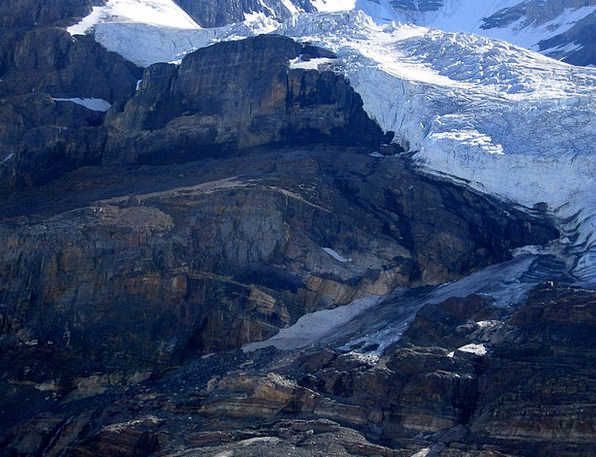 Athabasca Glacier Landscapes Nature Canada Rocky M