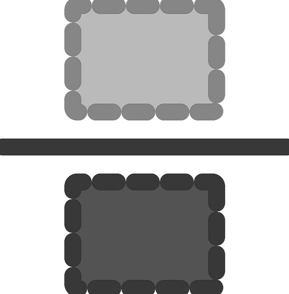 Fraction Portion Sign Icon Image Symbol Free Vecto