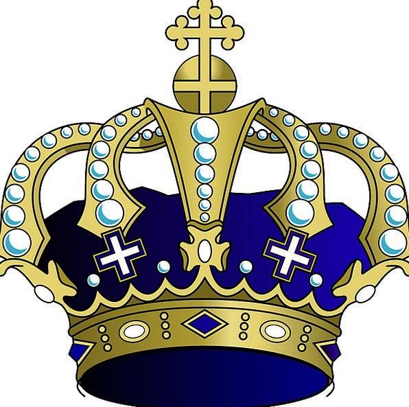 Crown Top Monuments Monarch Places Royal Regal Kin