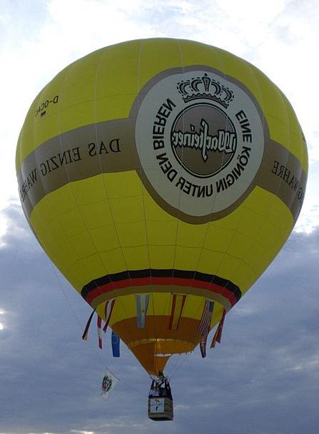 Warsteiner Balloon Inflatable Hot Air Balloon