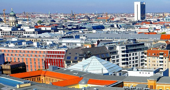 Berlin Buildings Urban Architecture Roofs Rooftops
