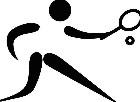 Tennis Sporting Pictogram Sign Sports Logo Symbol Olympics Olympic Sport Pixcove