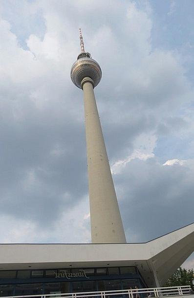 Torre De Televisión Germany Berlin Urbanos Torre S