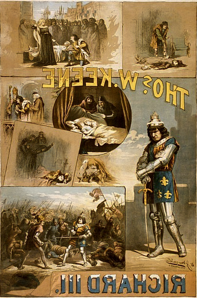 William Shakespeare Poster Picture Richard Iii 188