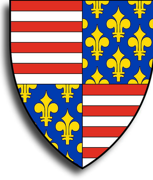 Charles Martel Hungary Historic Coat Of Arms Crest