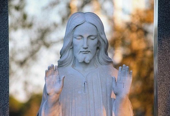 Jesus Spiritual Statue Figurine Religious Male Mas