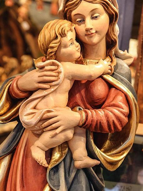 Maria Christmas Jesus Santon Christ Child Christma