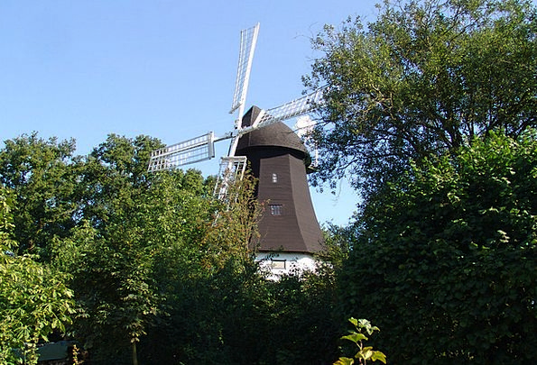 Windmill Landscapes Countryside Nature Landscapes