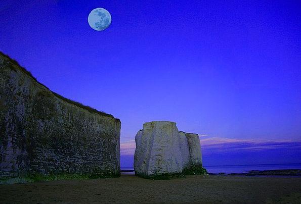 Moon Romanticize Vacation Marine Travel Chalk Writ