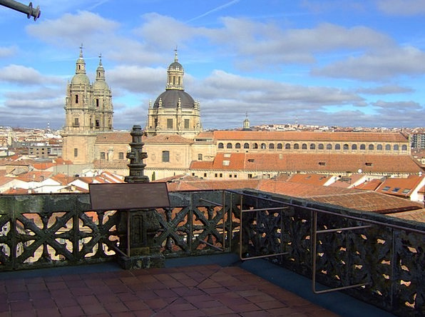Salamanca Buildings Architecture Cathedral Spain A