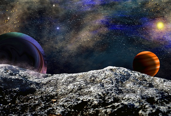 Space Interplanetary Cosmos Planet Earth Universe