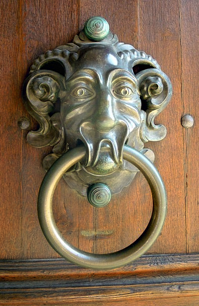 Doorknocker Goalmouth Door Entrance Goal House Ent
