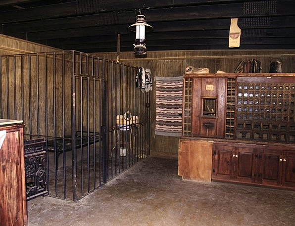 Jail Monuments Saloons Places Old Ancient Bars His