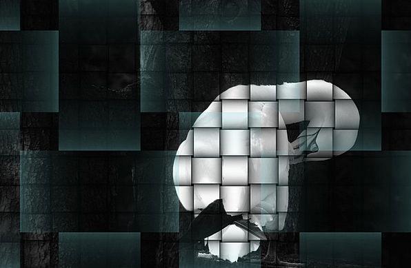 Graphic Explicit Abstract Nonconcrete Art Black Br