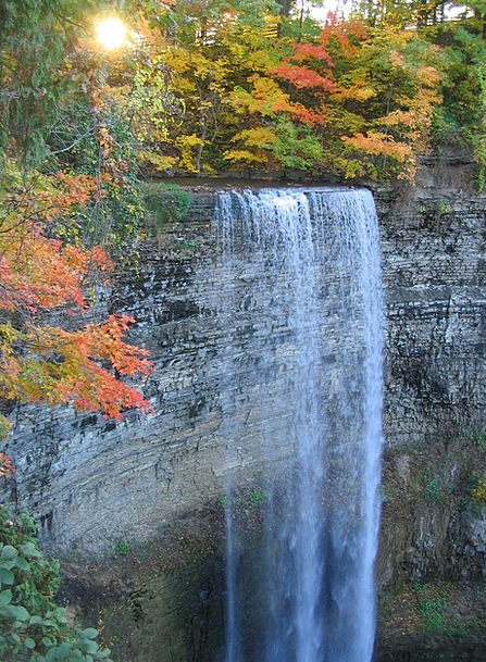 Waterfall Cascade Landscapes Nature Fall Reduction