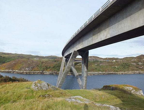 Bridge Bond River Stream Scotland United Kingdom N