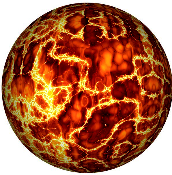 Ball Sphere Passion Electricity Power Fire Firebal