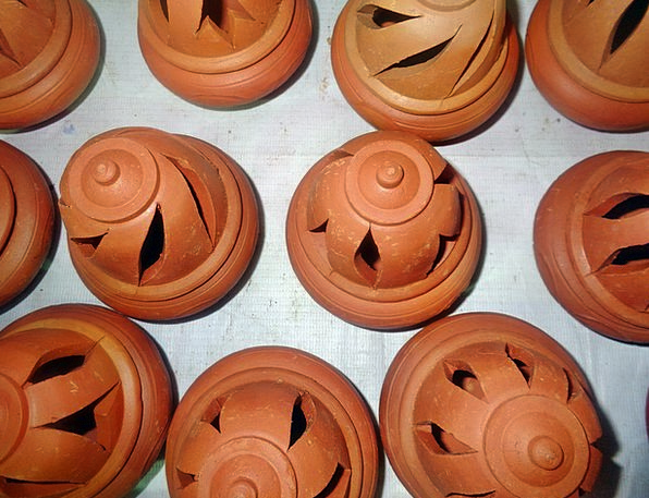 Clay Earthen Craft Painting Industry Handcrafts Ar