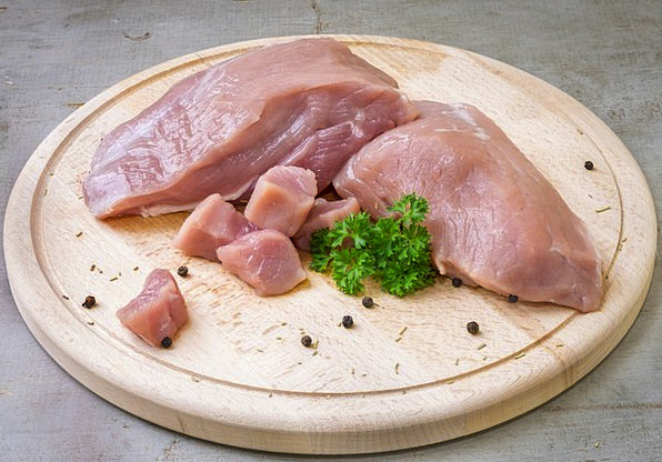 Pork Beef Drink Essence Food Raw Uncooked Meat Pre