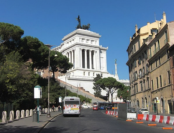 Vittorio Emanuele Buildings Architecture Italy Rom