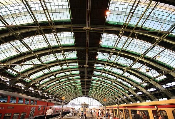 Berlin Buildings Architecture Train Pullman German