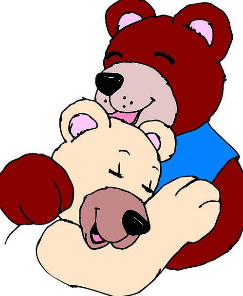 Hug Embrace Darling Bears Tolerates Love Together
