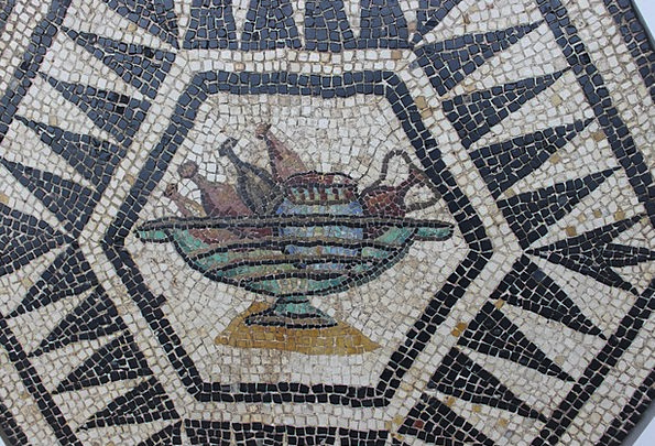 Mosaic Medley Vestige Trace Rome Archaeology Meals