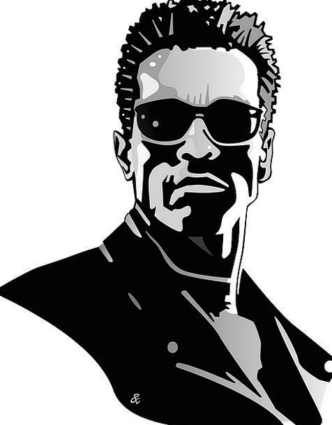 Arnold Schwarzenegger Celebrity Superstar Terminat