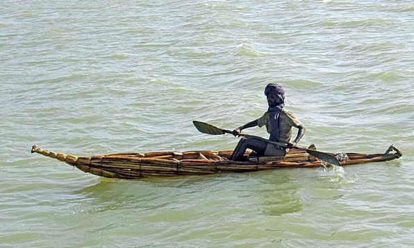 Ethiopia Reed Boat Tana