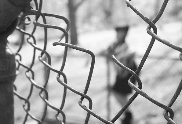 Fence Barrier Buildings Common Architecture City U
