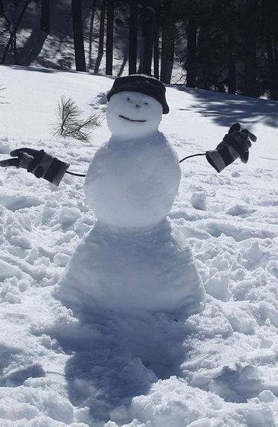 Snowman Snowflake Winter Season Snow Hat Cap Decem