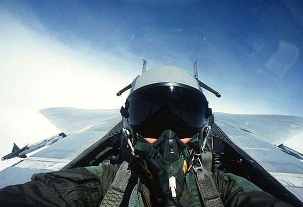 Pilot Experimental Jet Plane Fighter Jet Fighter P