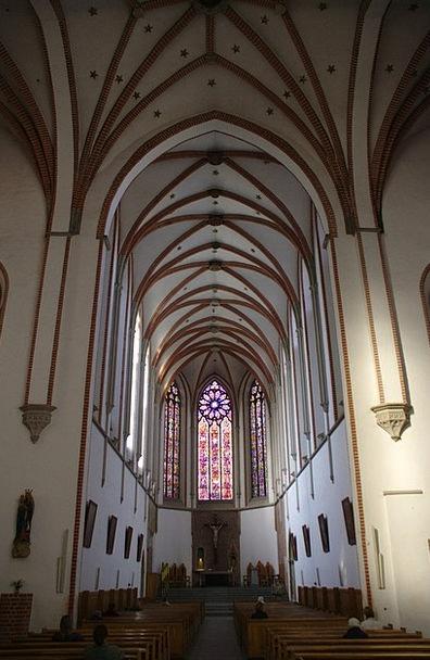Wroclaw Dominican Church Poland Church Ecclesiasti