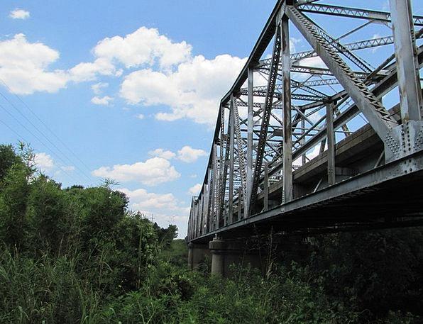 Bridge Bond Strengthen Old Ancient Steel Metal Met