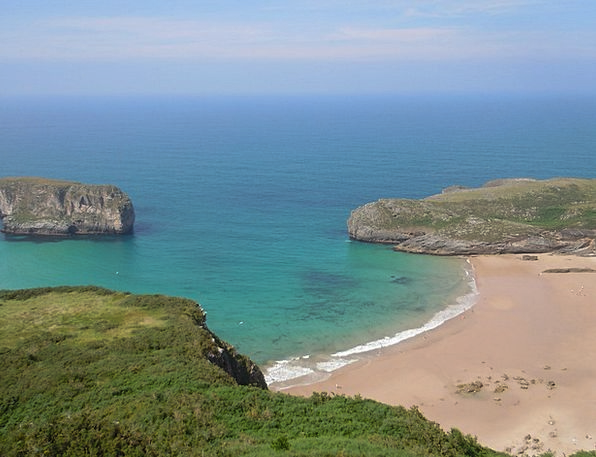 Beach Seashore Vacation Travel Spain Asturias Sea