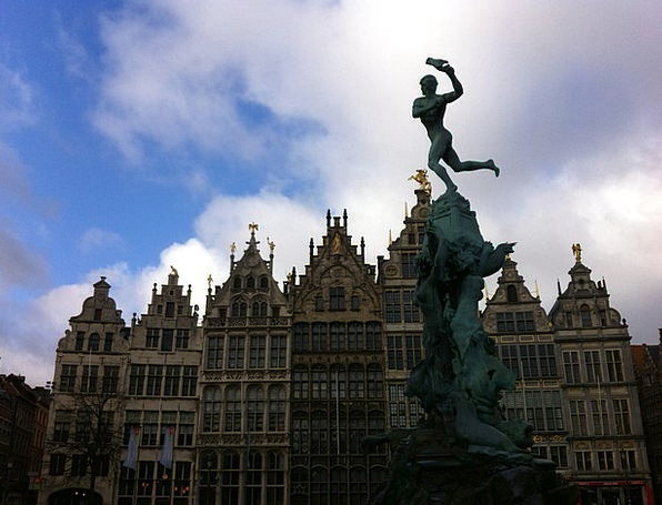 Belgium Buildings Architecture Sculpture Statue An