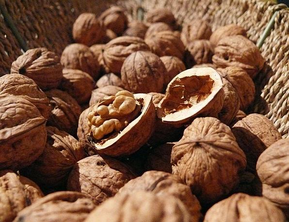 Walnuts Drink Mad Food Food Nourishment Nuts Healt