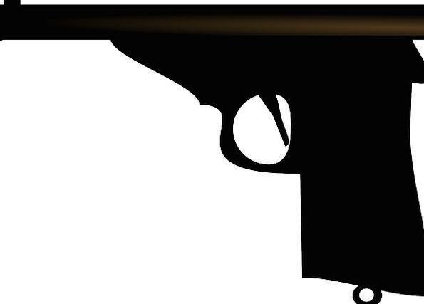 Firearm Weapon Armament Gun Free Vector Graphics P