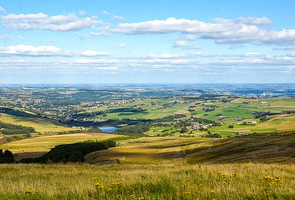 Landscape Landscapes Nature England Holmfirth Coun