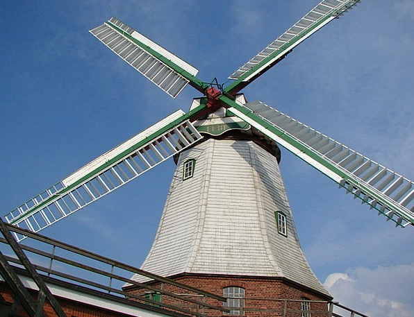 Mill Grinder Holland Windmill