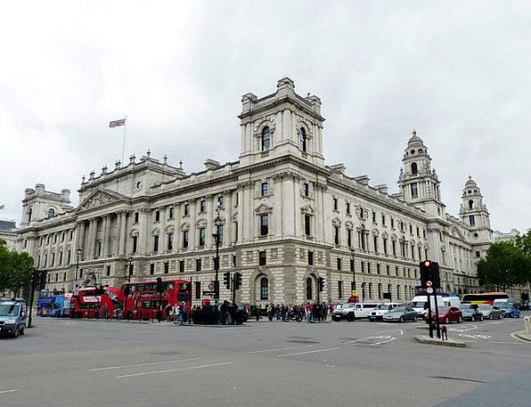 Whitehall Buildings Architecture London England Fa