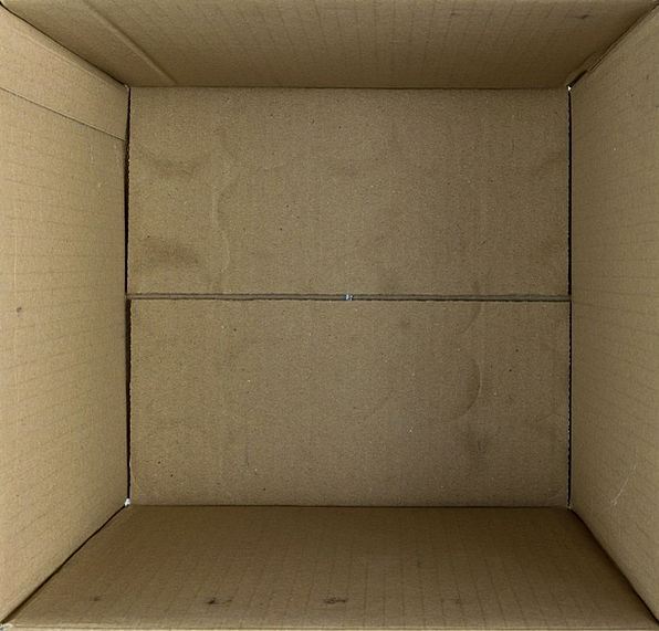 Box Container Unfilled Cardboard Insubstantial Emp