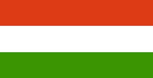 Hungary Standard National Nationwide Flag Hungaria