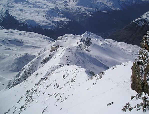 Matterhorn Hörnligrat Hörnlihütte Zermatt Mountain