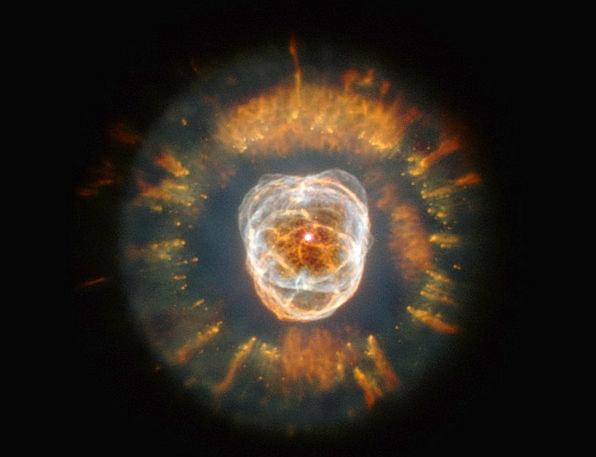 Eskimo Nebula Planetary Fog Ngc 2392 Sky Constella