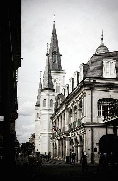 French Quarter Church Ecclesiastical New Orleans