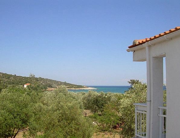 Greece Sea Marine Thassos Coast Shore Sea View