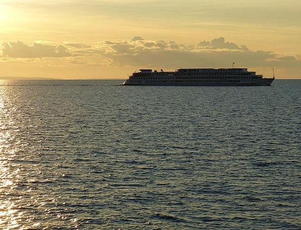 Lake Ladoga Landscapes Nature Russia Cruise Ship S