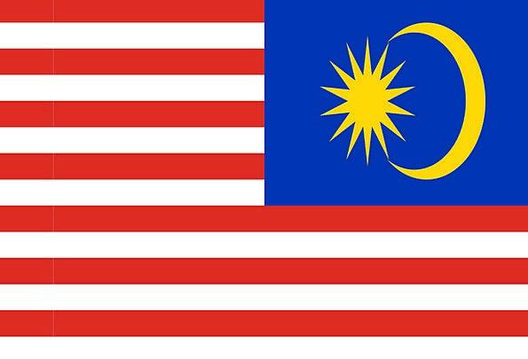Malaysia Standard National Flag Flag Nationality N